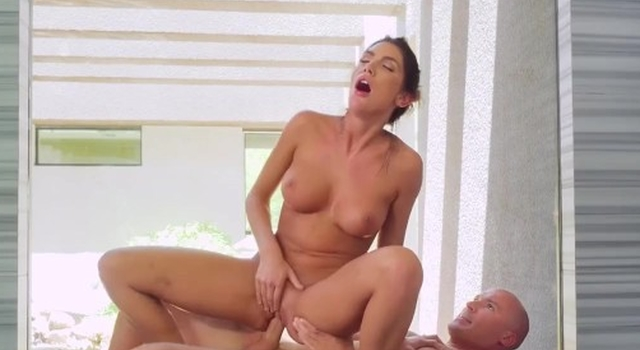 August Ames Gets..